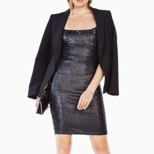BCBG Alese Sequinned Cocktail Dress